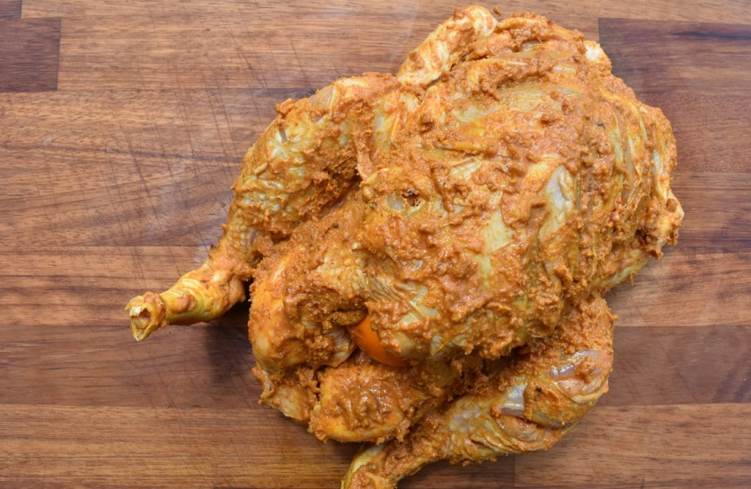 spiced roast chicken - Dipa's recipe. Britain's Best Home Cook