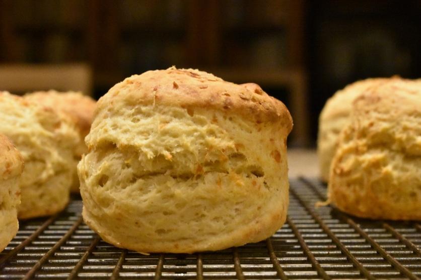 Brie scones