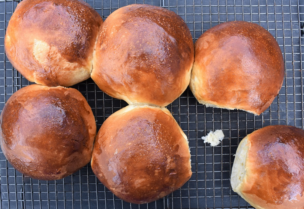 My ultimate burger buns!