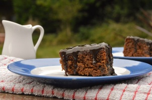 Ginger & tamarind sticky toffee pudding