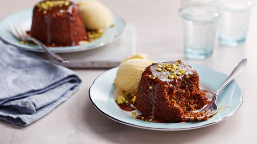 my ginger & tamarind puddings (BBC Food)