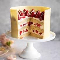 Voted Best-Ever Celebration Cake - Sainsbury's Magazine