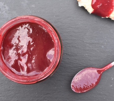 blackcurrant curd