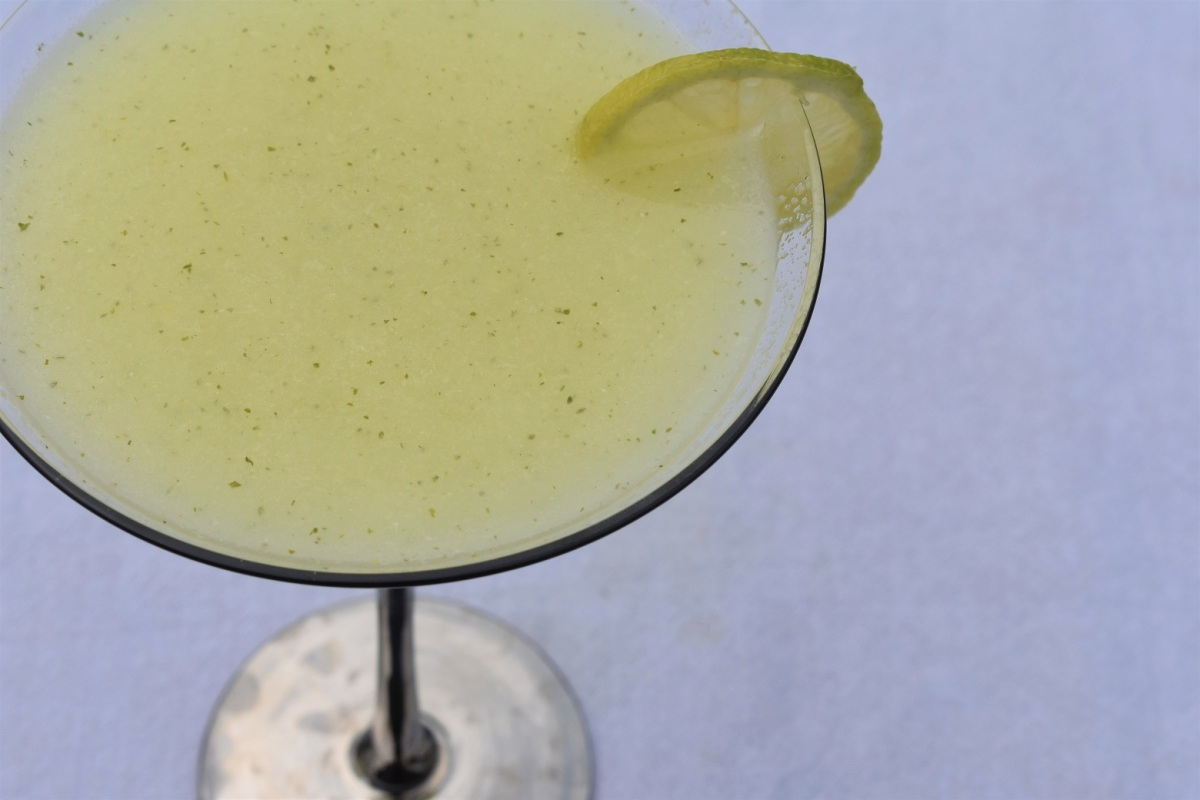 Instant minted lemonade