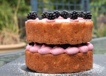 blackberry and apple cake