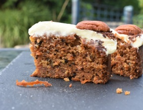 my ideal carrot cake