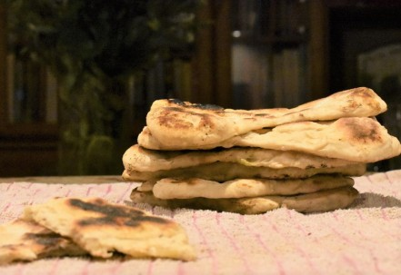 cumin and onion flatbreads