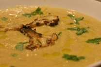 roasted curried cauliflower soup