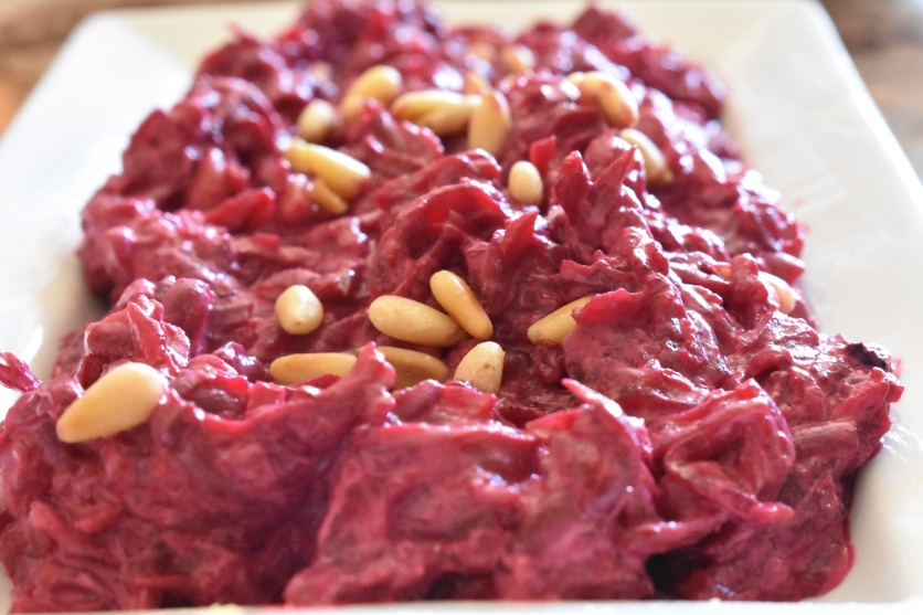 spiced beetroot dip