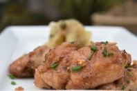 sweetbread, sweetbreads, offal, meat, lemon, cooking, food, foodie, homecook, cheap, inexpensive, quick, easy, philip, philipfriend, philip friend, savory, savoury, starter, appetizer, garlic, light