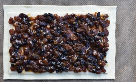 topped with mincemeat