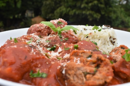 Italian, meatball, meat balls, meatballs, tomato, rice, basil, homemade, spices, herbs, cooking, cookery, recipe, homecook, philip, philip friend, Philipfriend, Surrey, bakingfanatic, kitchen, food, foodie, tasty,