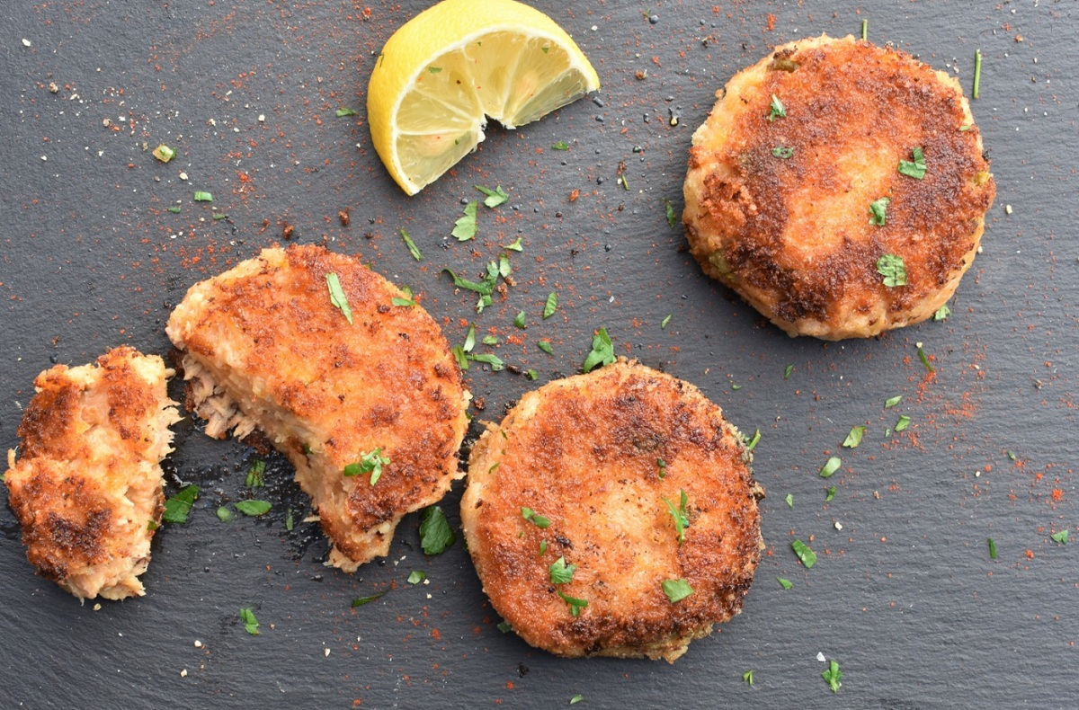 Store-cupboard fishcakes