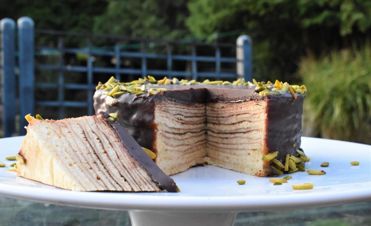 """Baumkuchen (""""tree cake"""")"""