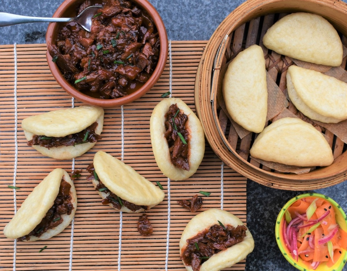 Steamed buns incl. bao, hirata… & the best filling ideas