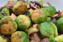 sprouts, brussel sprouts, bacon, chestnut, onion, brusselsprouts, cooking, cookery, side dish, side, homegrown, roast, roast dinner, christmas, christmas dinner, food, truffle, xmas, foodie, besthomecook, best home cook, BBC, Philip, Philip Friend, philipfriend, foodie, recipe, recipe