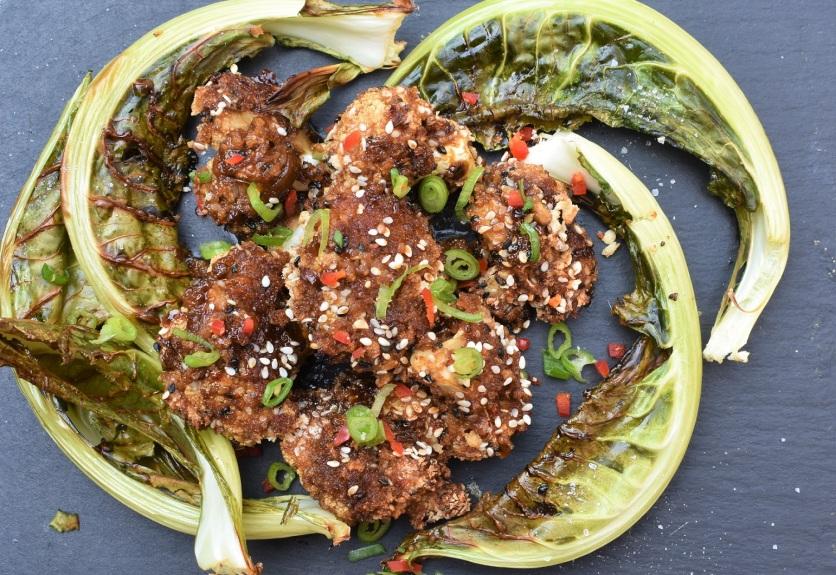 savoury, savory, cauliflower, teriyaki, soy sauce, ginger, garlic, spiced, popcorn, vegan, plant based, plantbased, plant-based, vegetarian, Japanese, food, foodie, recipe, homecook, best home cook, besthomecook, philip. philipfriend, surrey, blogger, cooking, cookery